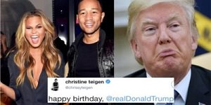 Teigen, Legend and Trump